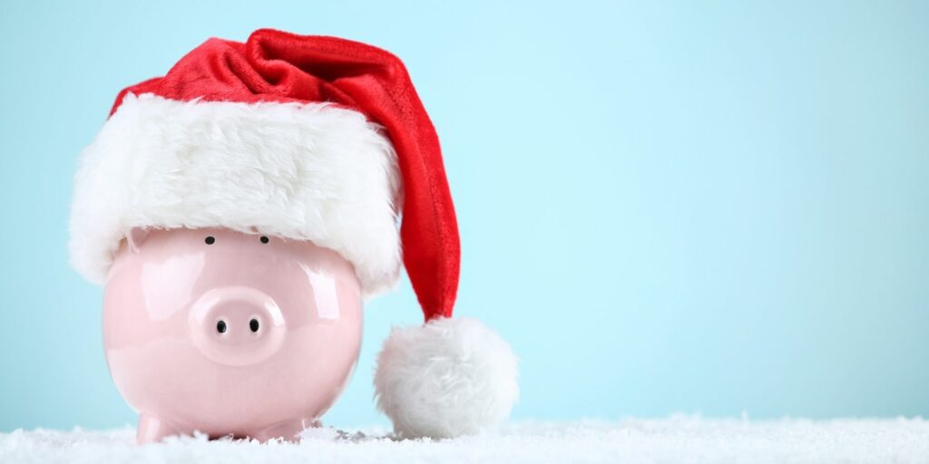 Santa Piggy Bank