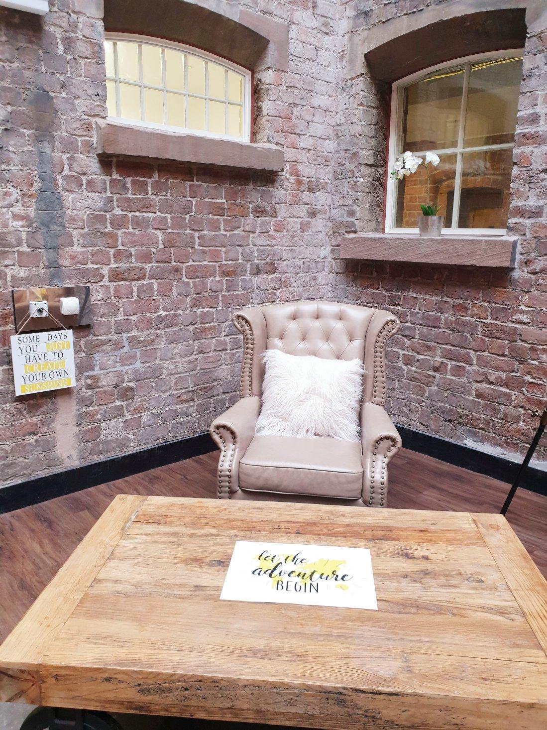 Bridewell Communal Living Room Area