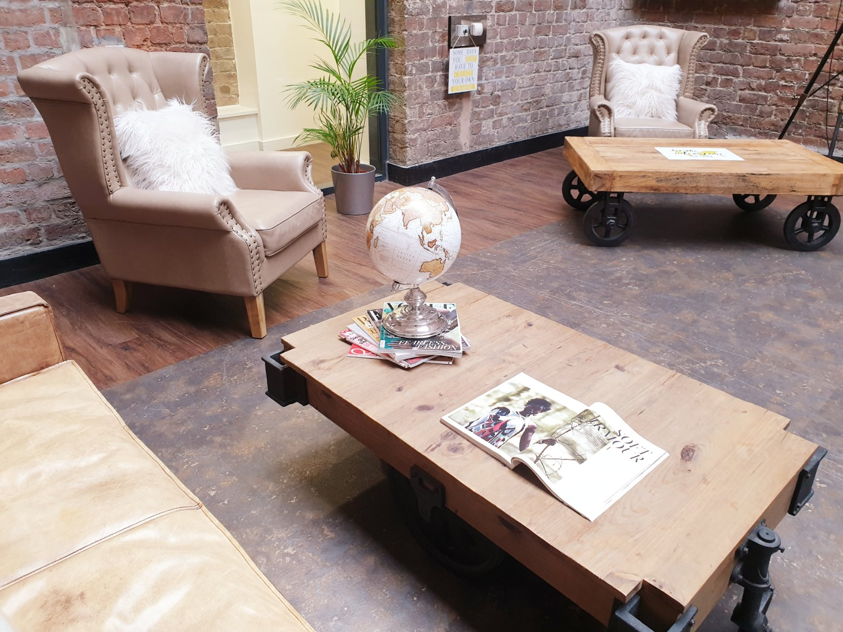 Bridewell Communal Living Area