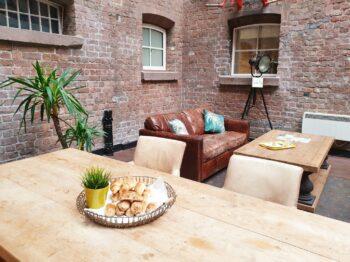 Bridewell Communal Kitchen Lounge Area
