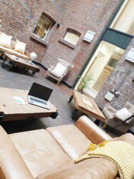 Bridewell Communal Lounge Area