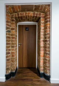 Bridewell Accommodation Doorway