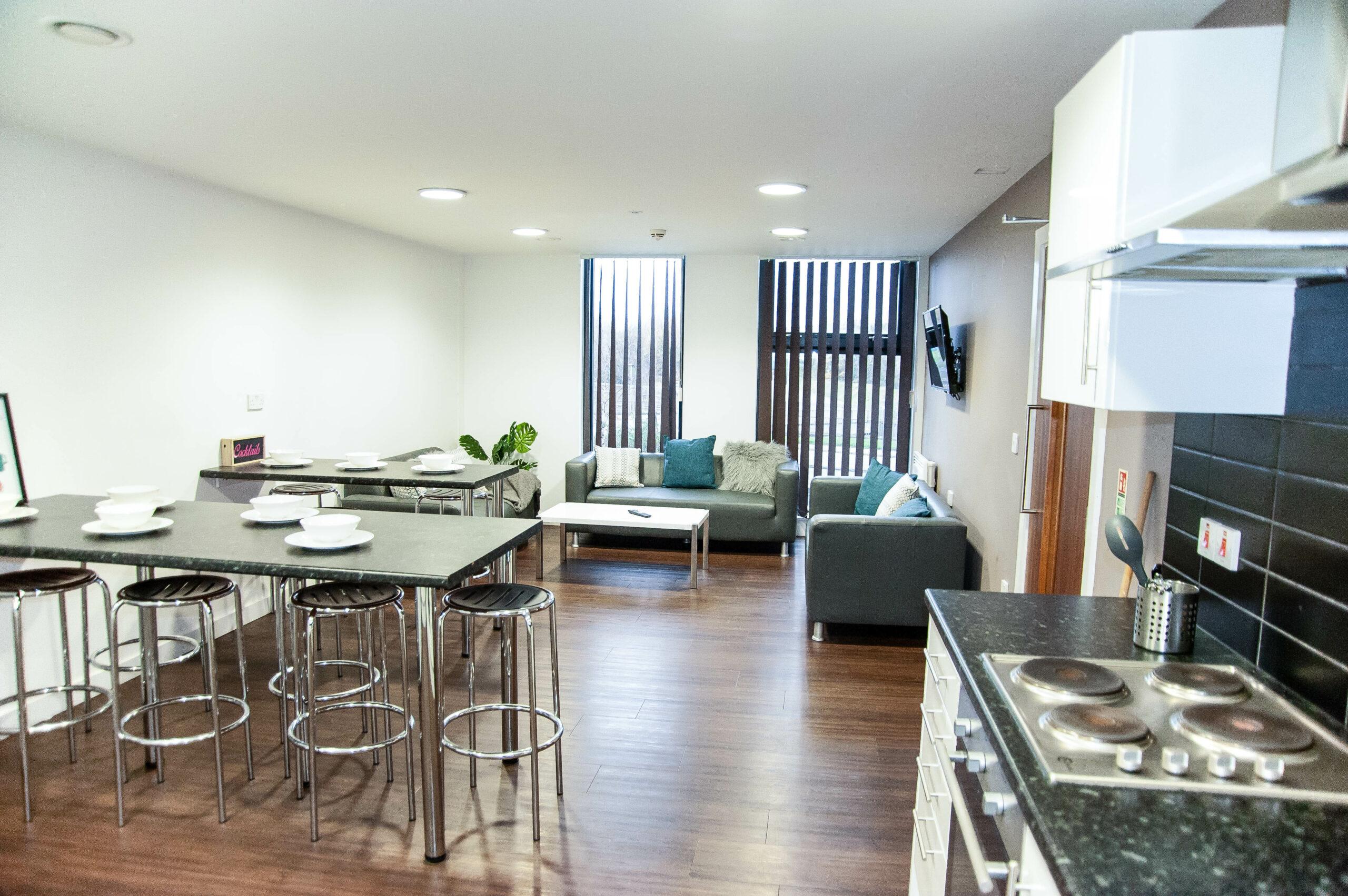 City Point Accommodation Communal Kitchen