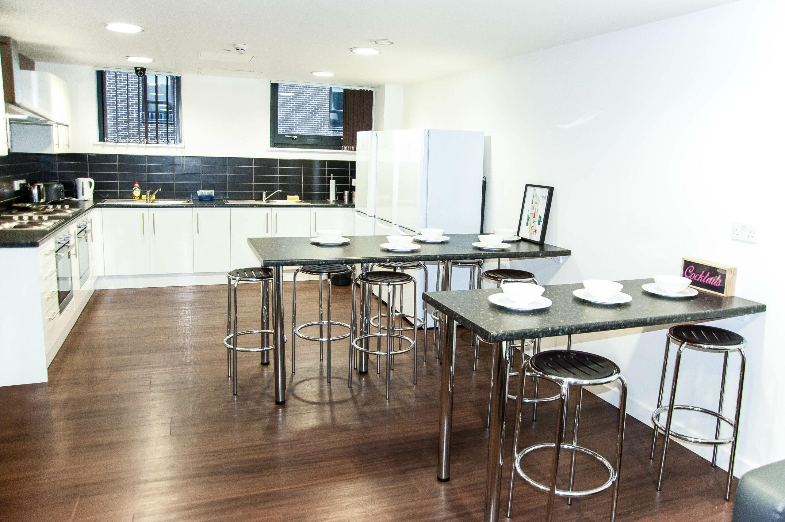 City Point Living Communal Kitchen
