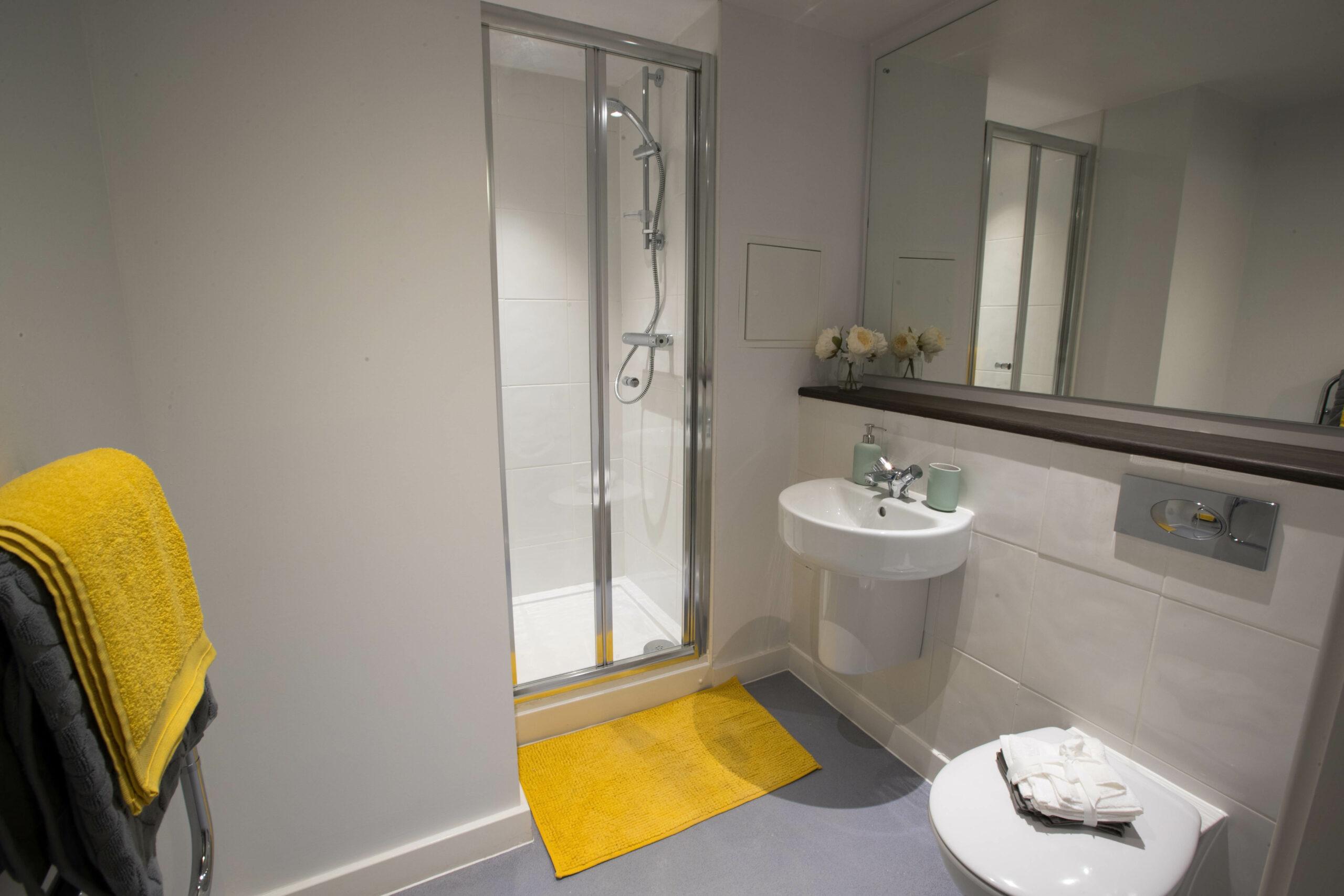 Parker Street Accommodation Bathroom