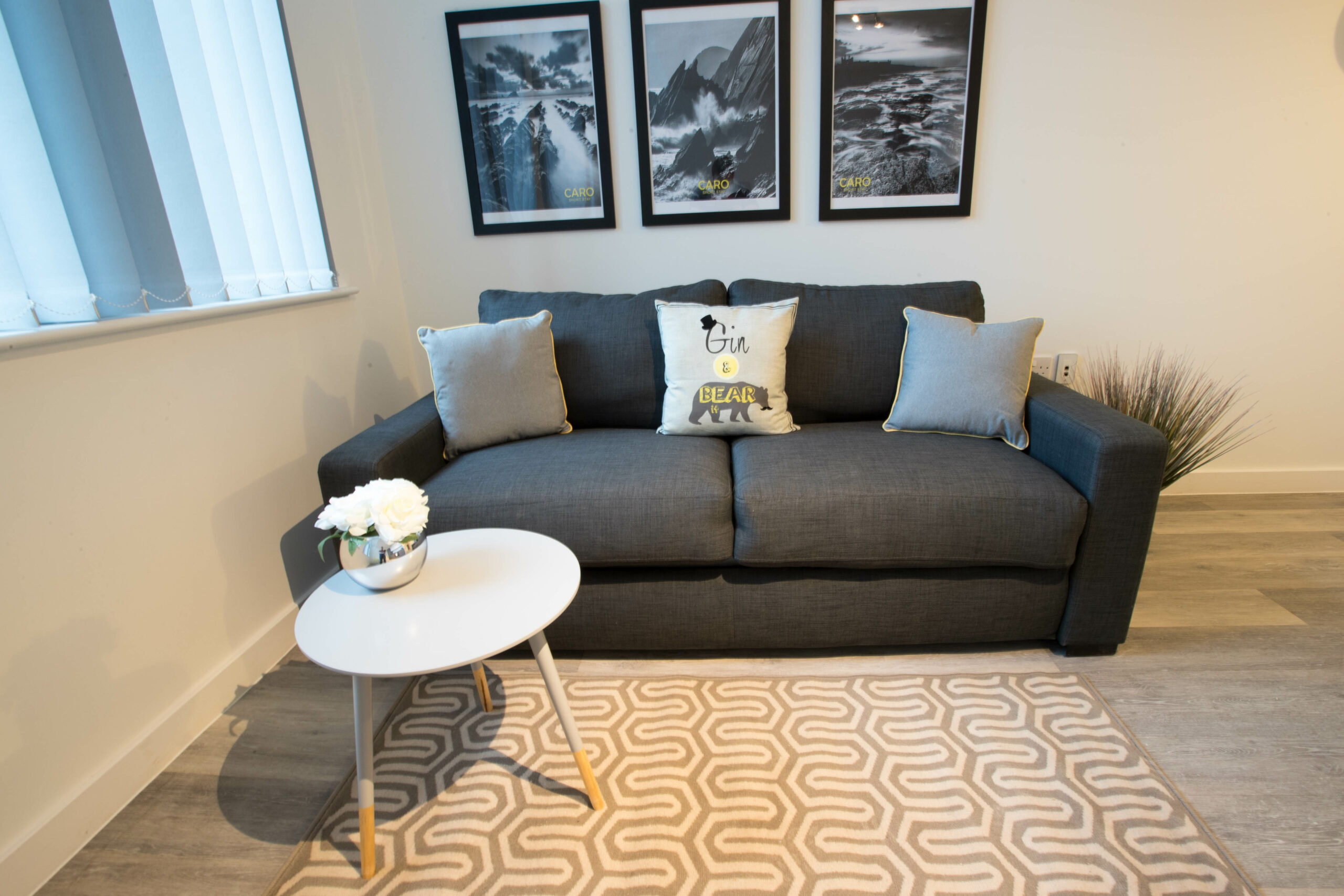 Parker Street Accommodation Living Room