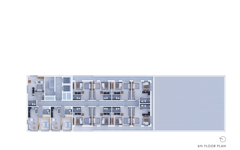 Poets Place - 6th Floor Plan