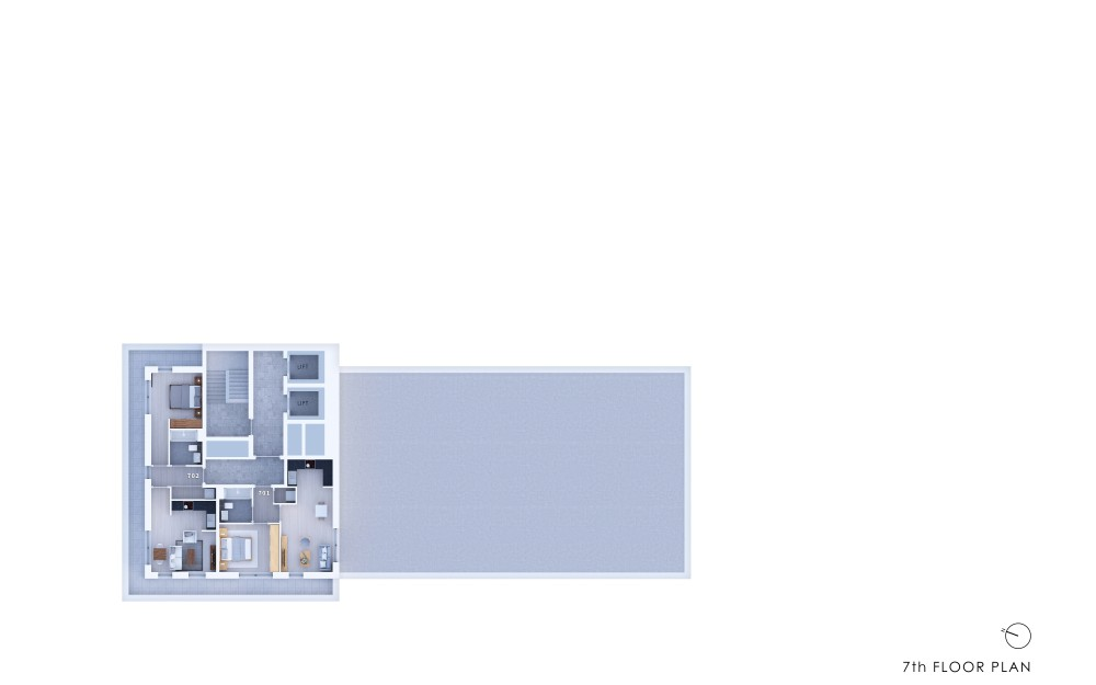 Poets Place - 7th Floor Plan