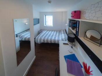 Wide Shaw Studio Bedroom