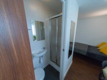 Studio Apartment Bathroom
