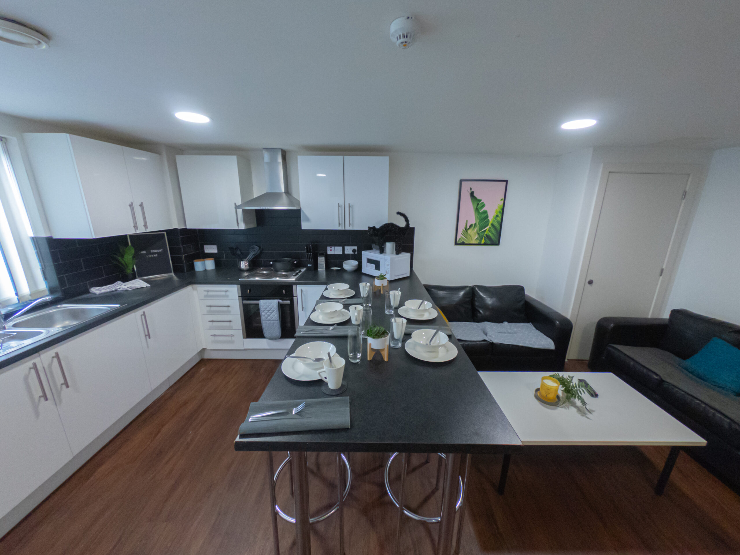 Studio Apartment Communal Kitchen