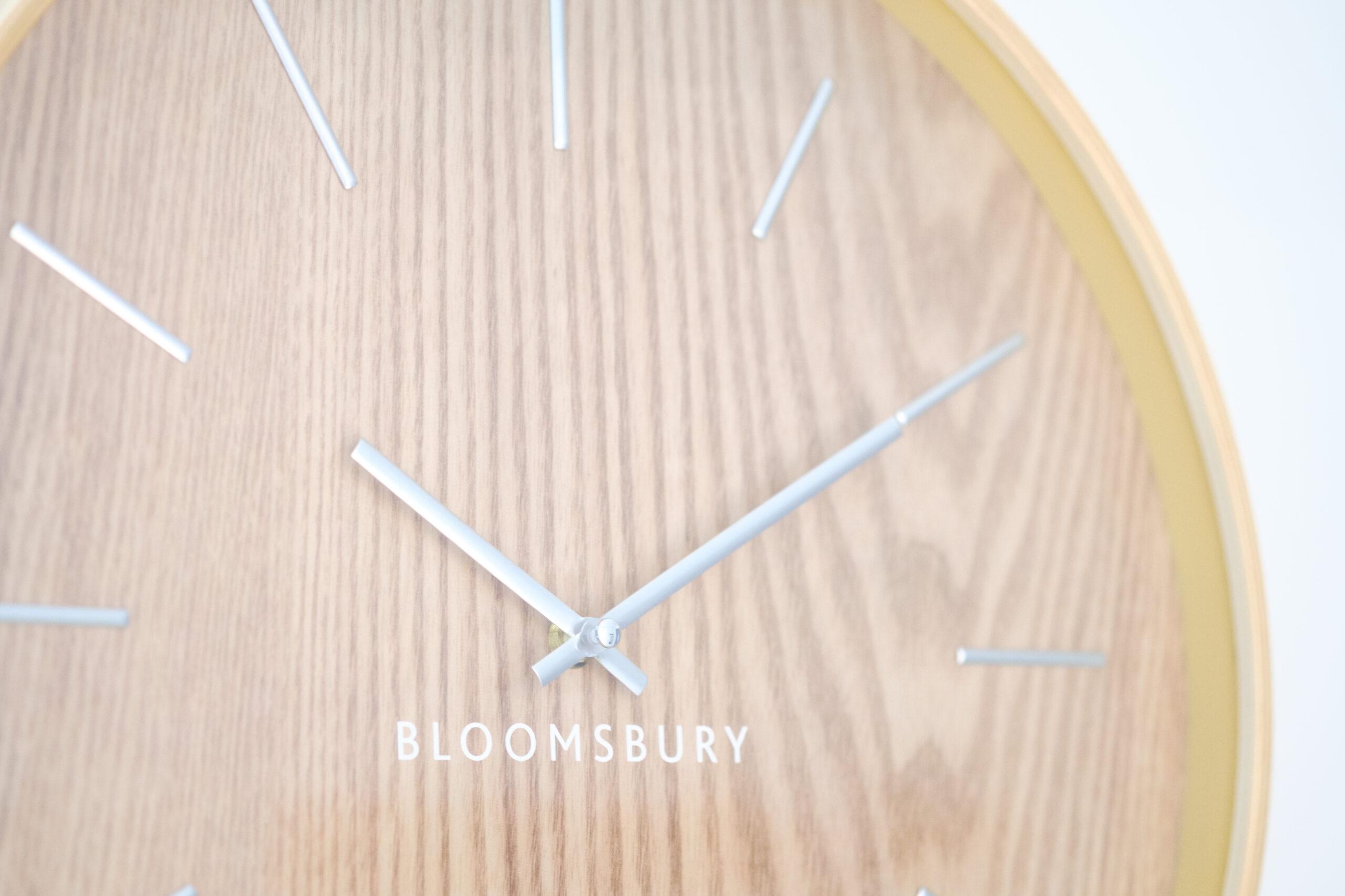 Poets Place Decorative Clock