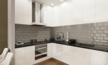 Student Accommodation Kitchen