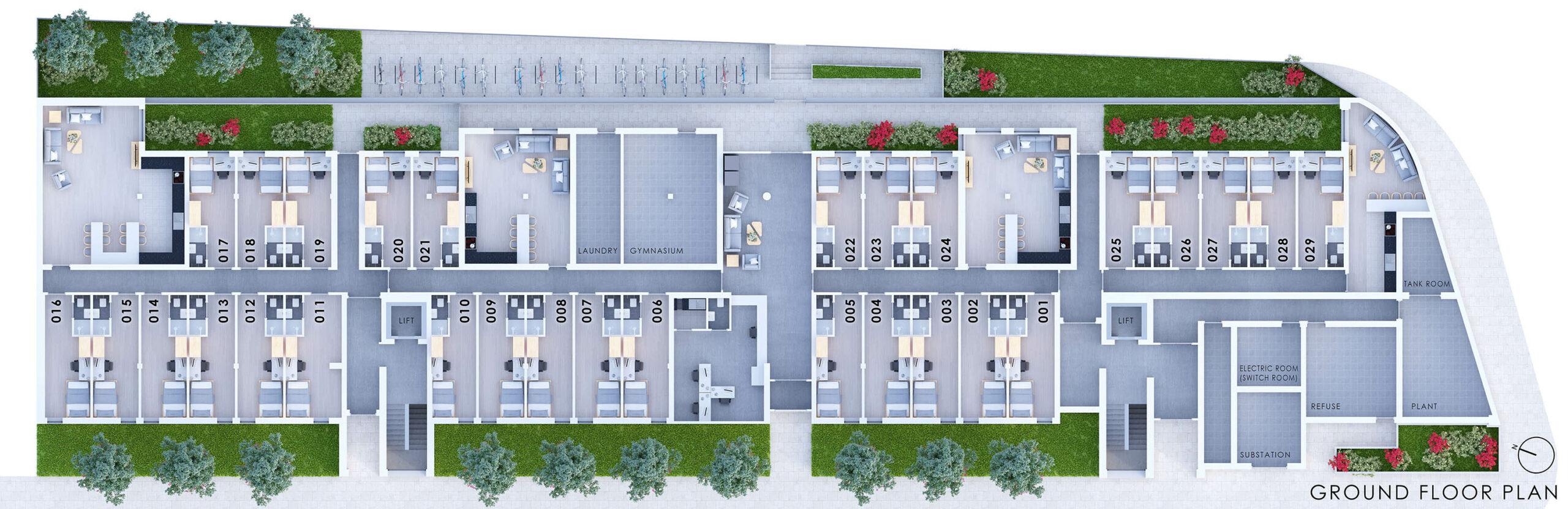 City Point Ground Floor Plan