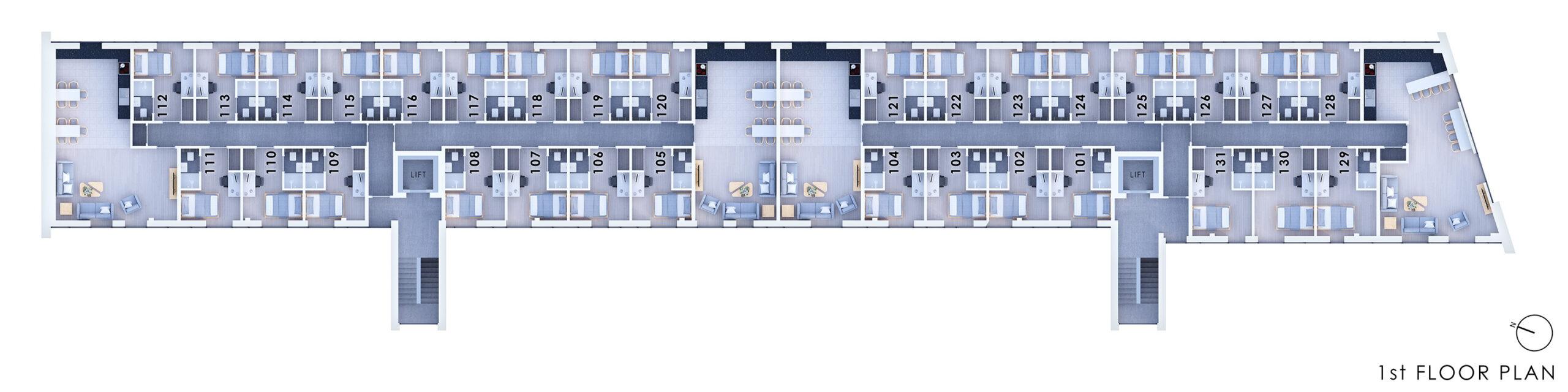 City Point 1st Floor Plan